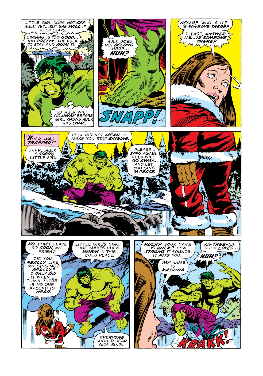 Read online Marvel Masterworks: The Incredible Hulk comic -  Issue # TPB 11 (Part 2) - 4