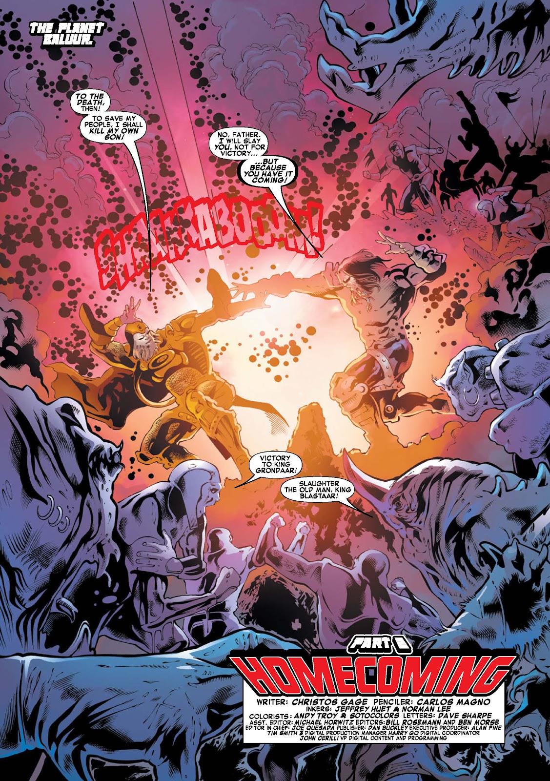 War of Kings: Warriors - Blastaar Issue #2 #2 - English 2