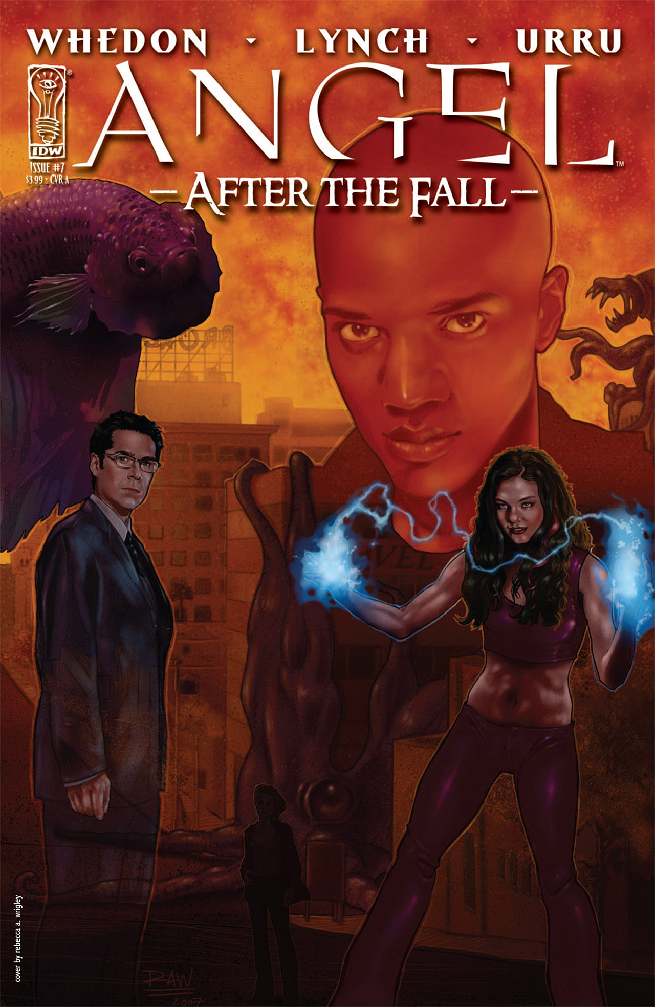Read online Angel: After The Fall comic -  Issue #7 - 1