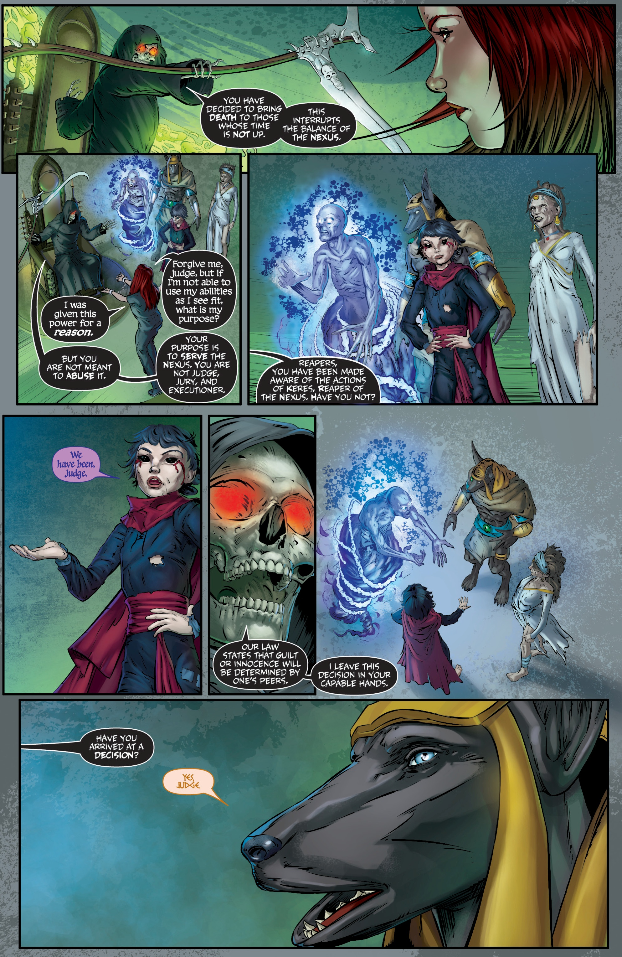 Read online Grimm Fairy Tales presents Death comic -  Issue # Full - 14