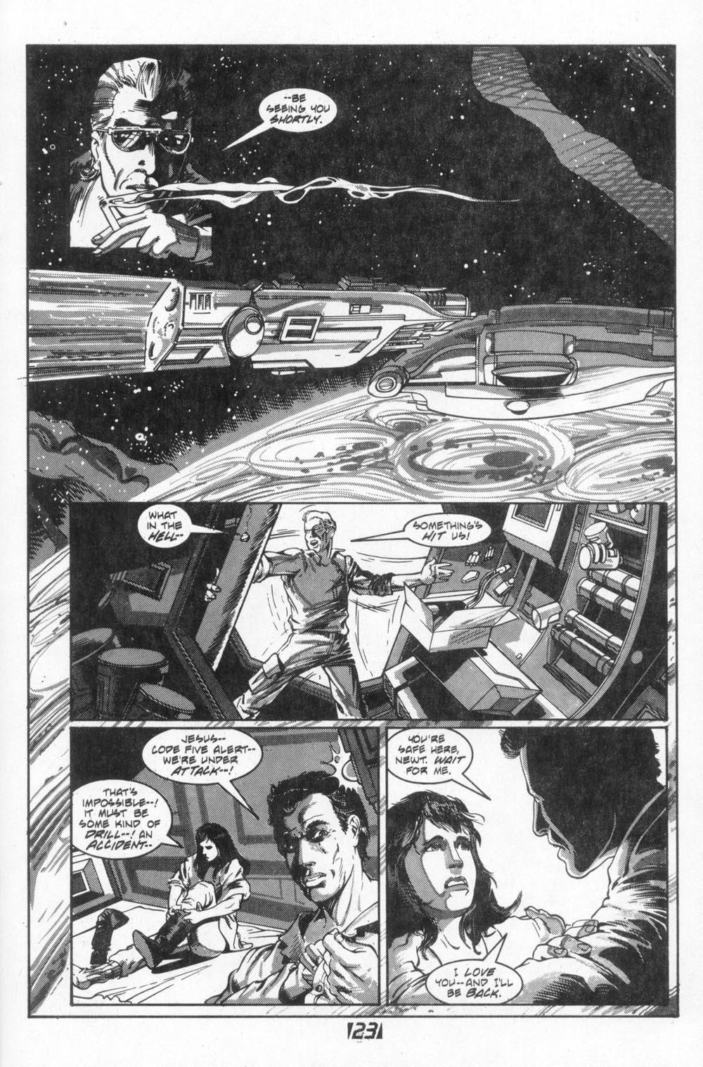 Read online Aliens (1988) comic -  Issue #4 - 25