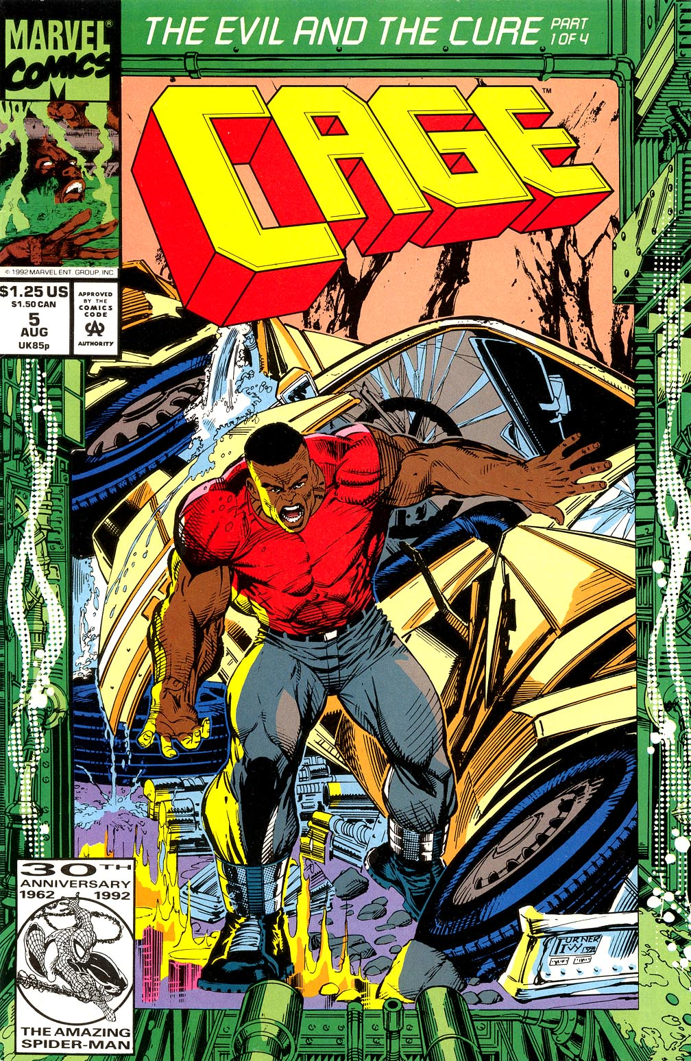 Cage (1992) issue 5 - Page 1