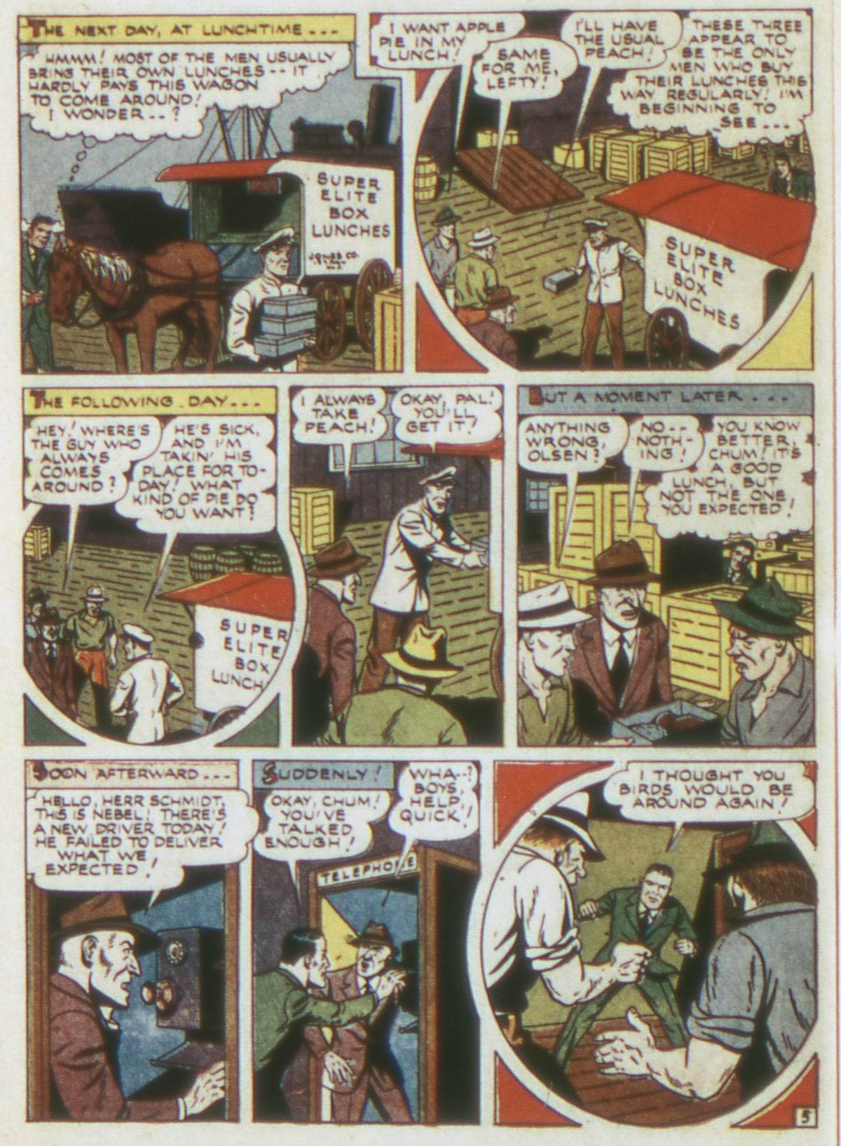 Read online Detective Comics (1937) comic -  Issue #82 - 36