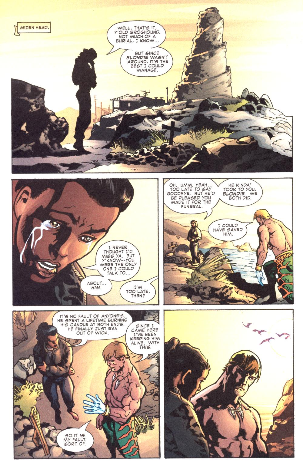 Read online Aquaman (2003) comic -  Issue #12 - 22