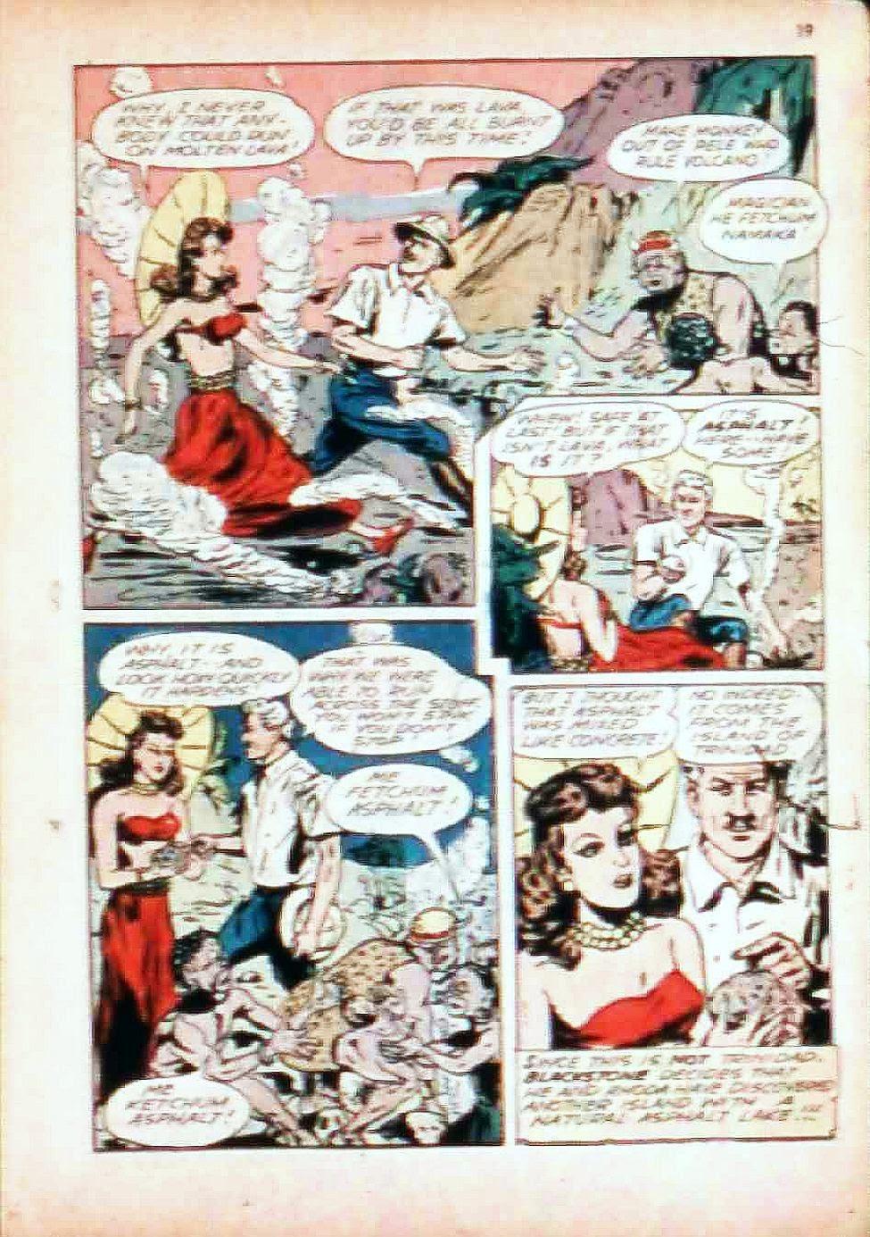 Read online Super-Magician Comics comic -  Issue #17 - 19