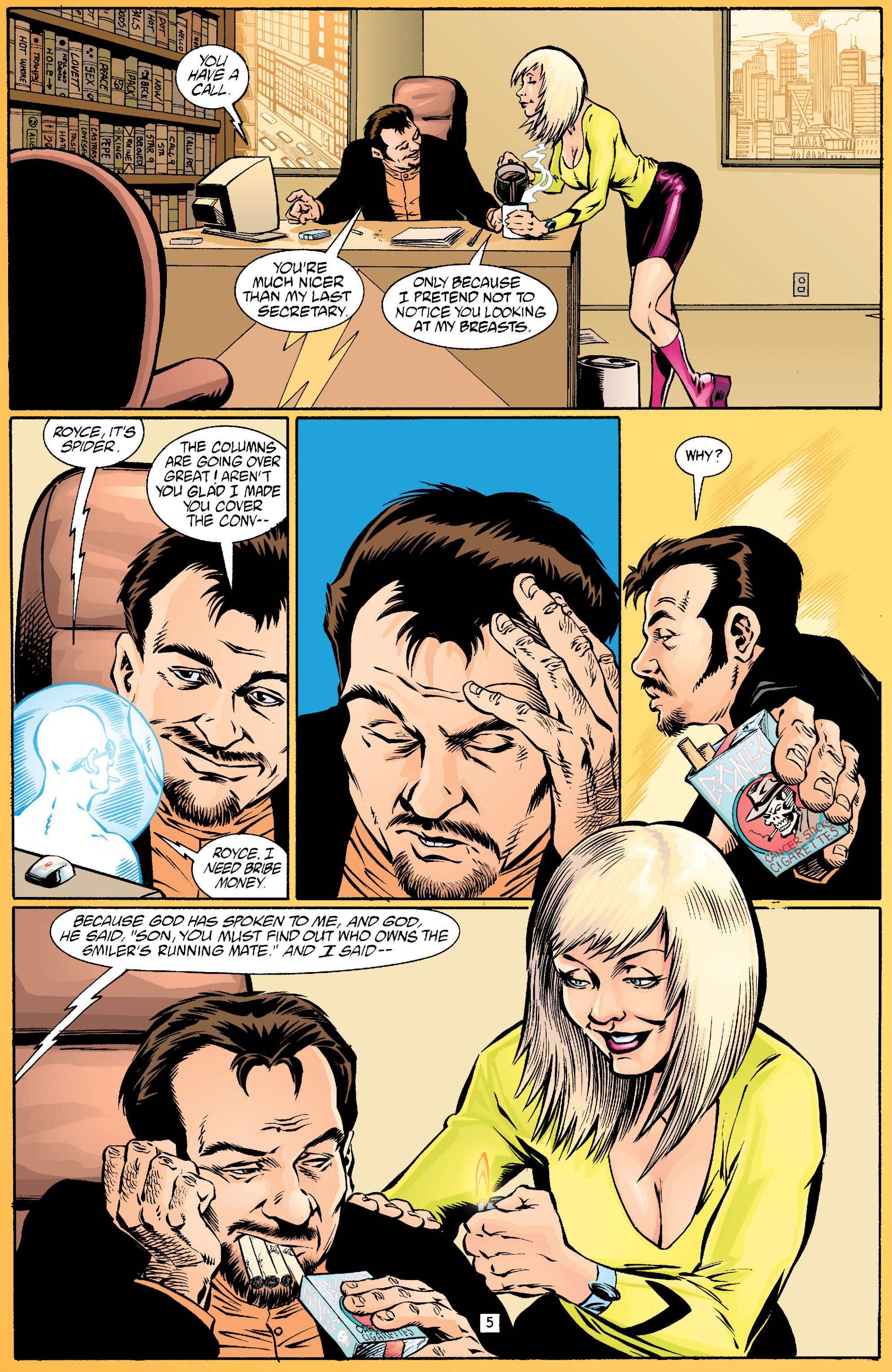 Read online Transmetropolitan comic -  Issue #18 - 6