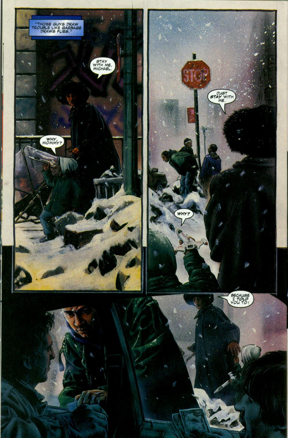 Read online Code of Honor comic -  Issue #3 - 9