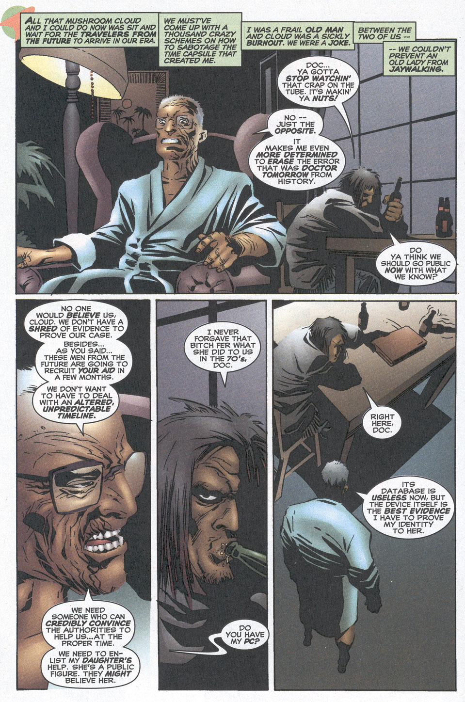Read online Doctor Tomorrow comic -  Issue #10 - 9