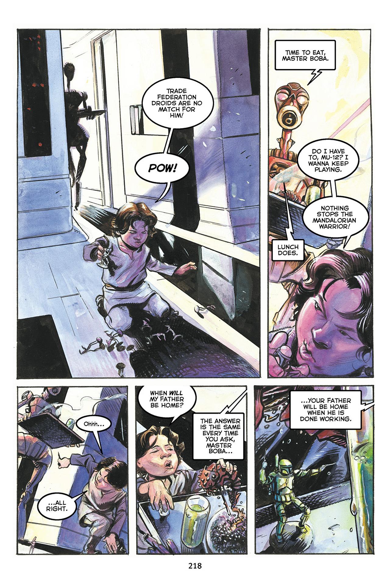Read online Star Wars Omnibus comic -  Issue # Vol. 10 - 217