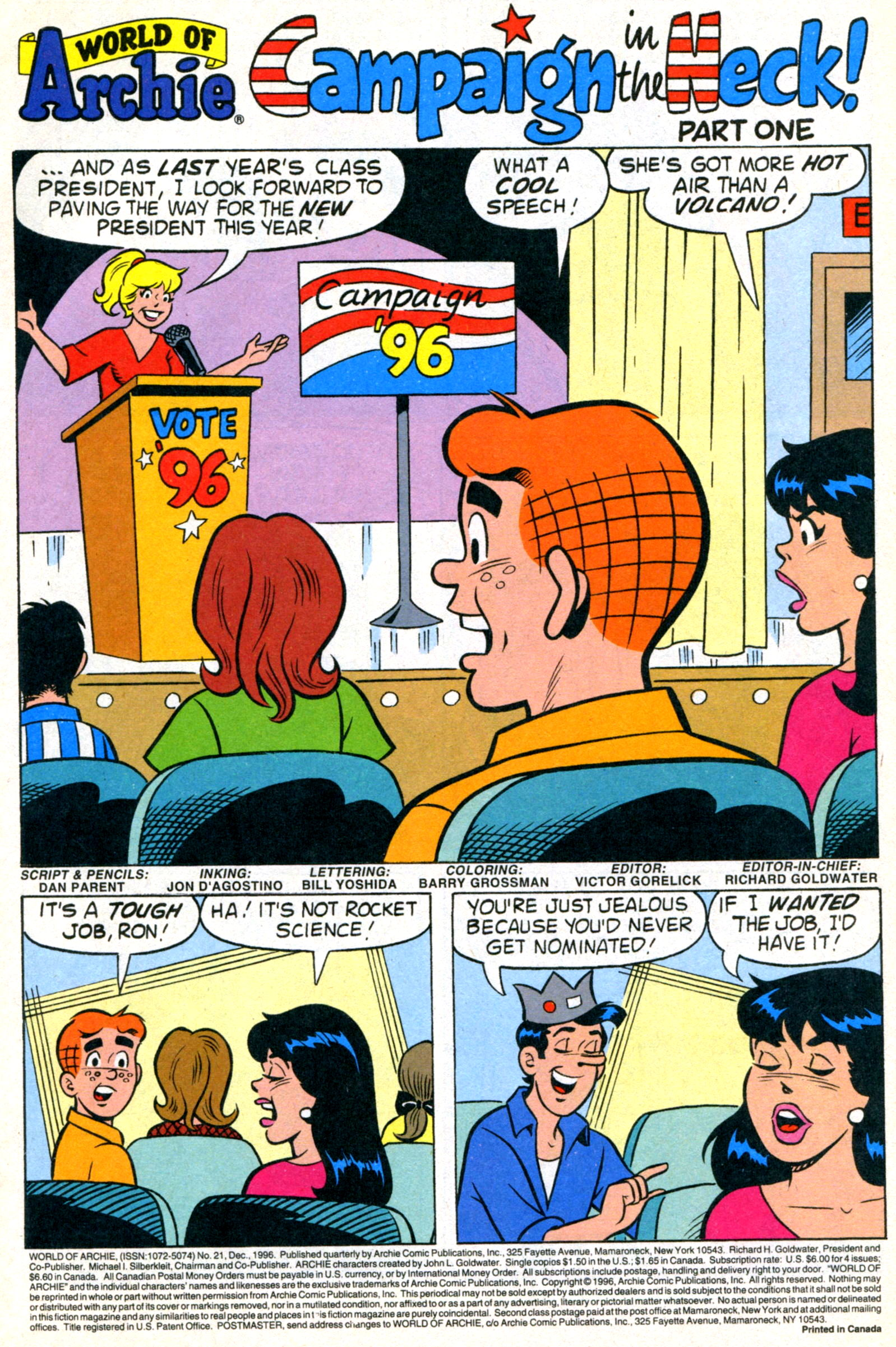 Read online World of Archie comic -  Issue #21 - 3