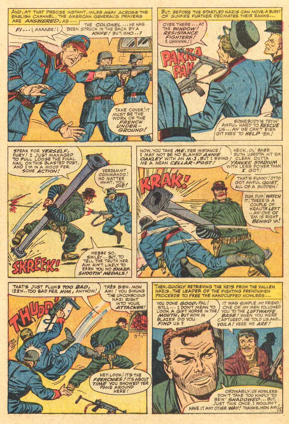 Read online Sgt. Fury comic -  Issue # _Special 2 - 15