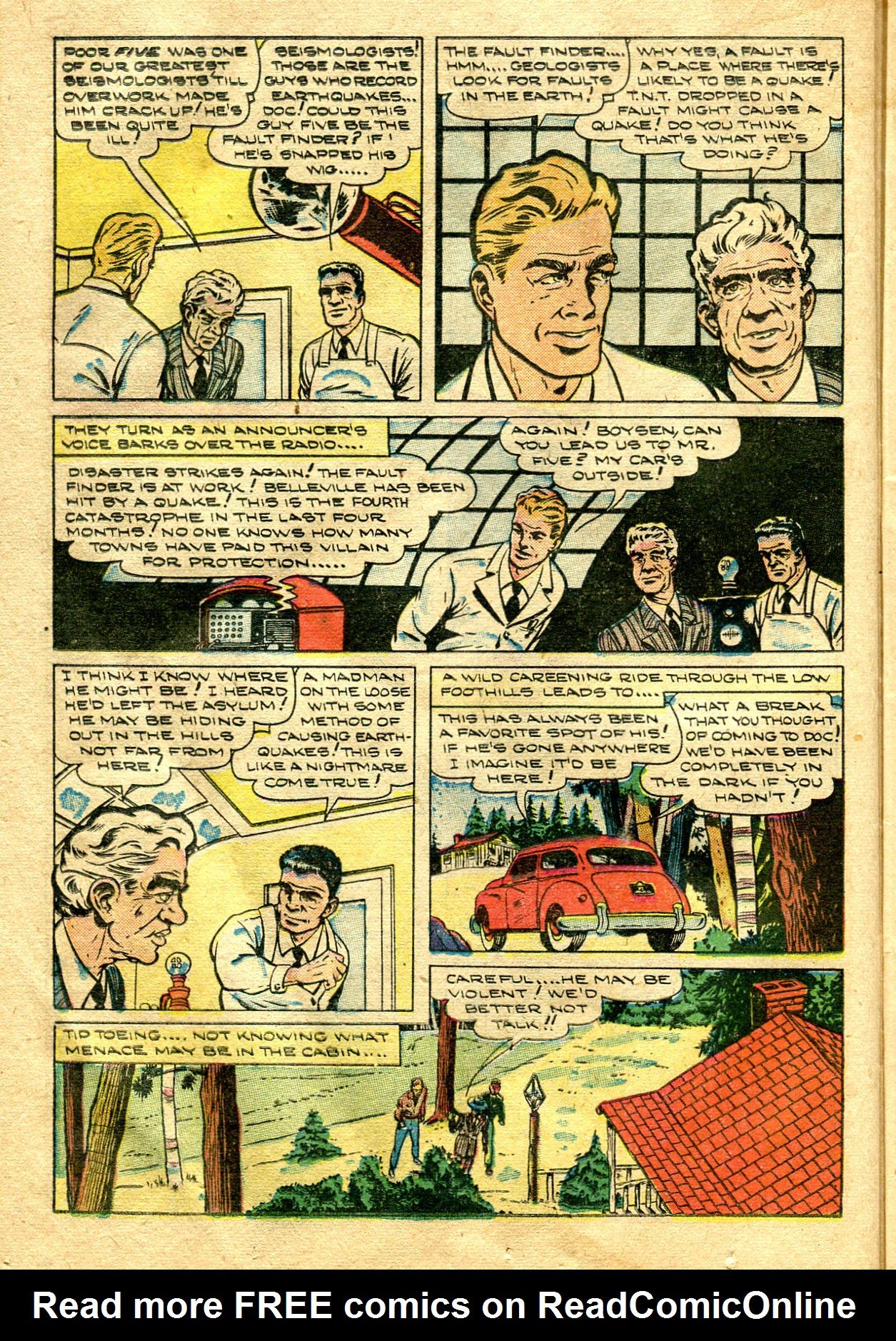 Read online Shadow Comics comic -  Issue #99 - 24