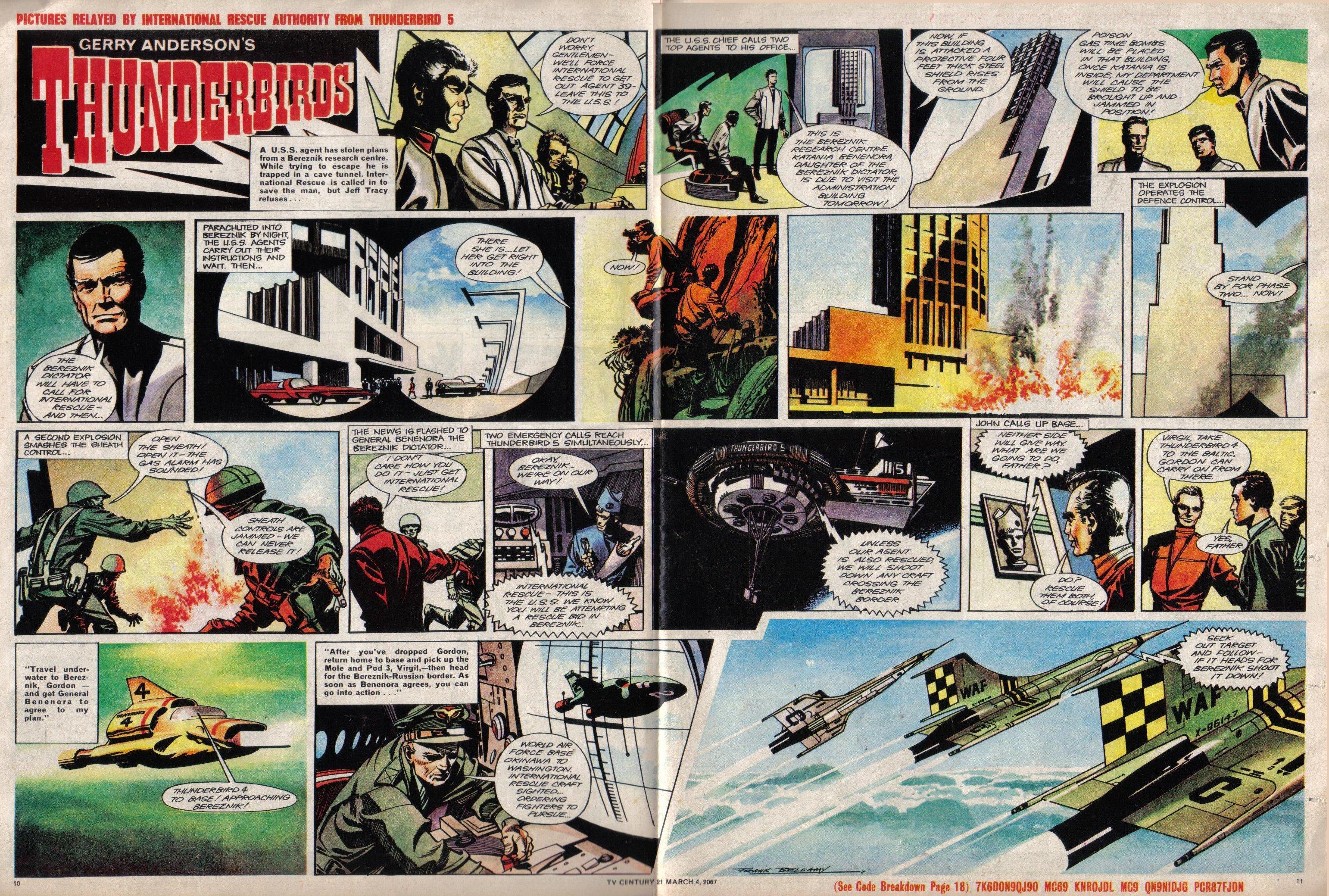 Read online TV Century 21 (TV 21) comic -  Issue #111 - 10
