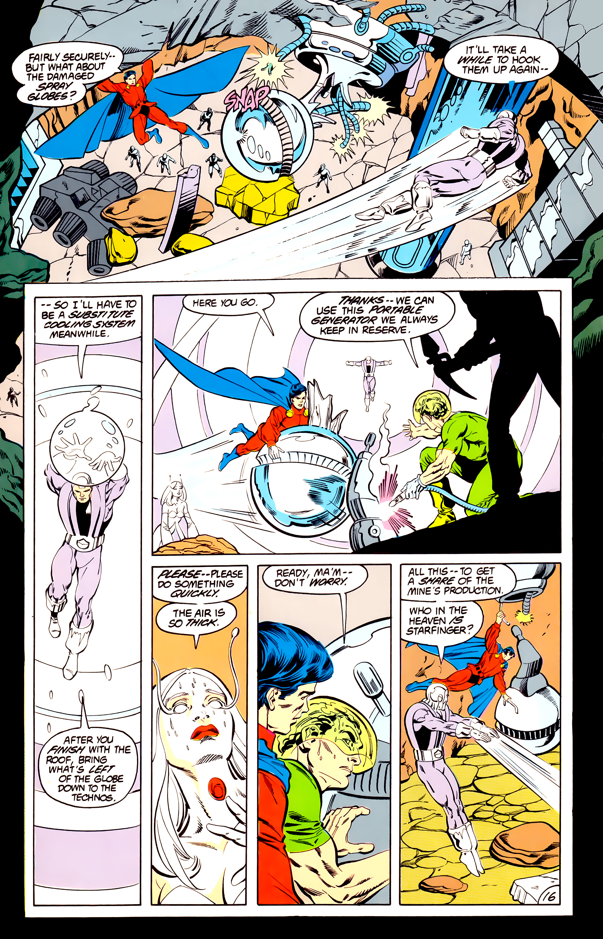 Legion of Super-Heroes (1984) 40 Page 16