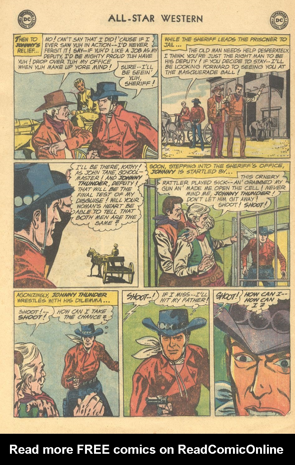 Read online All-Star Western (1951) comic -  Issue #108 - 16