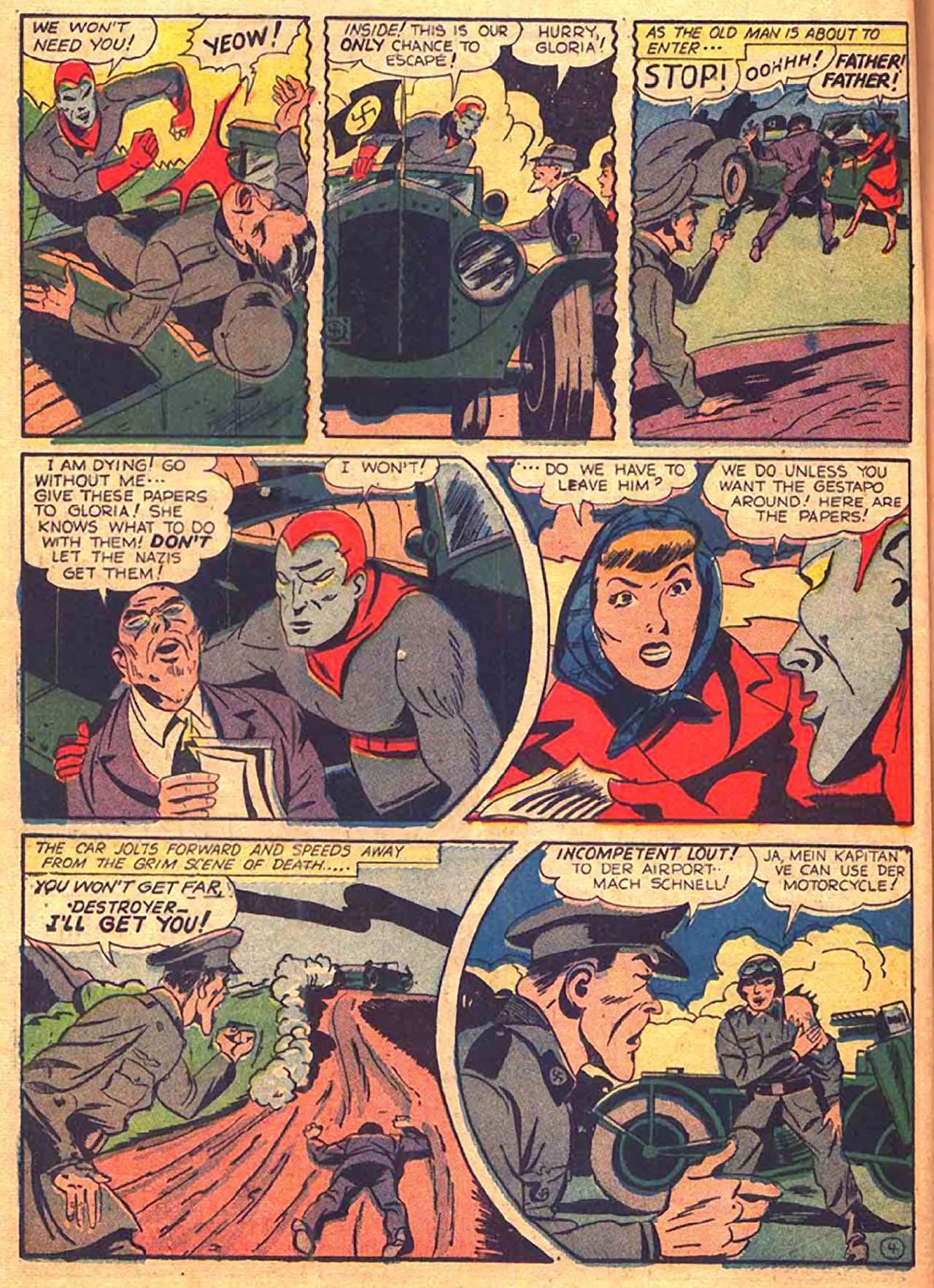 Read online All-Winners Comics comic -  Issue #9 - 43