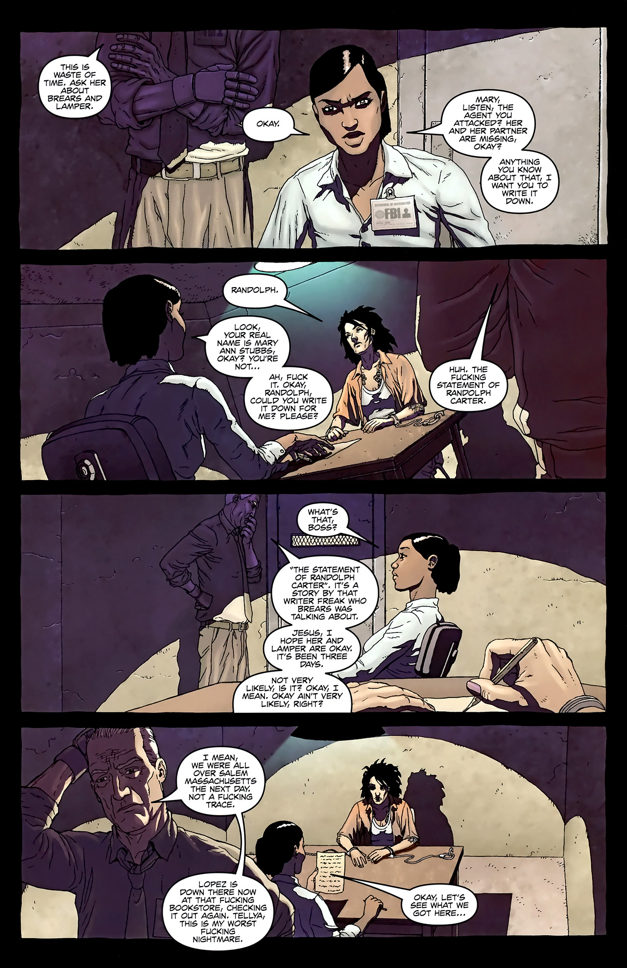 Read online Alan Moore's Neonomicon comic -  Issue #3 - 5