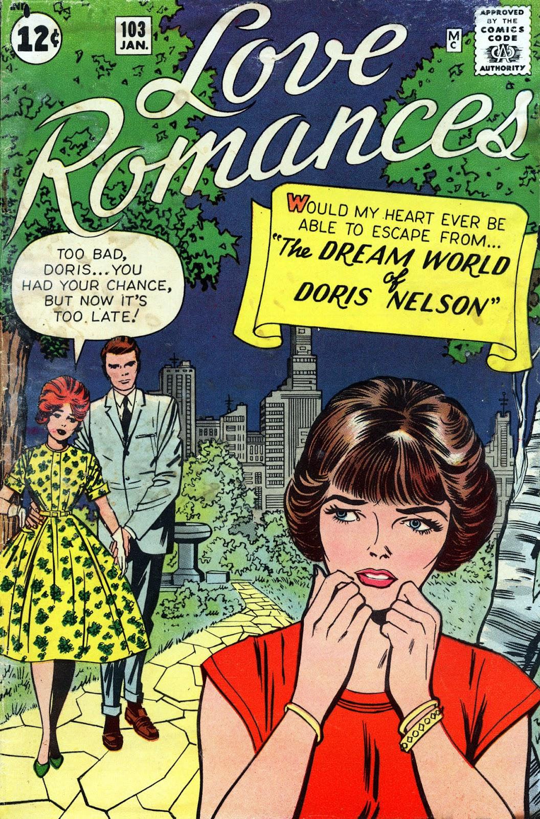 Love Romances (1949) issue 103 - Page 1