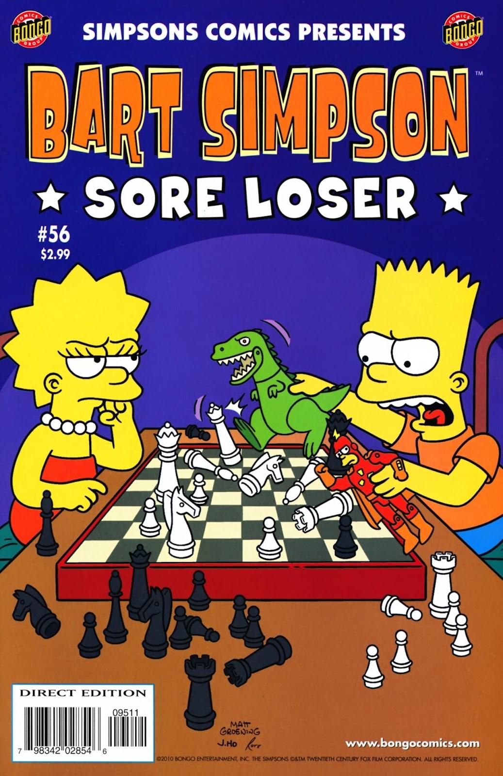 Simpsons Comics Presents Bart Simpson 56 Page 1