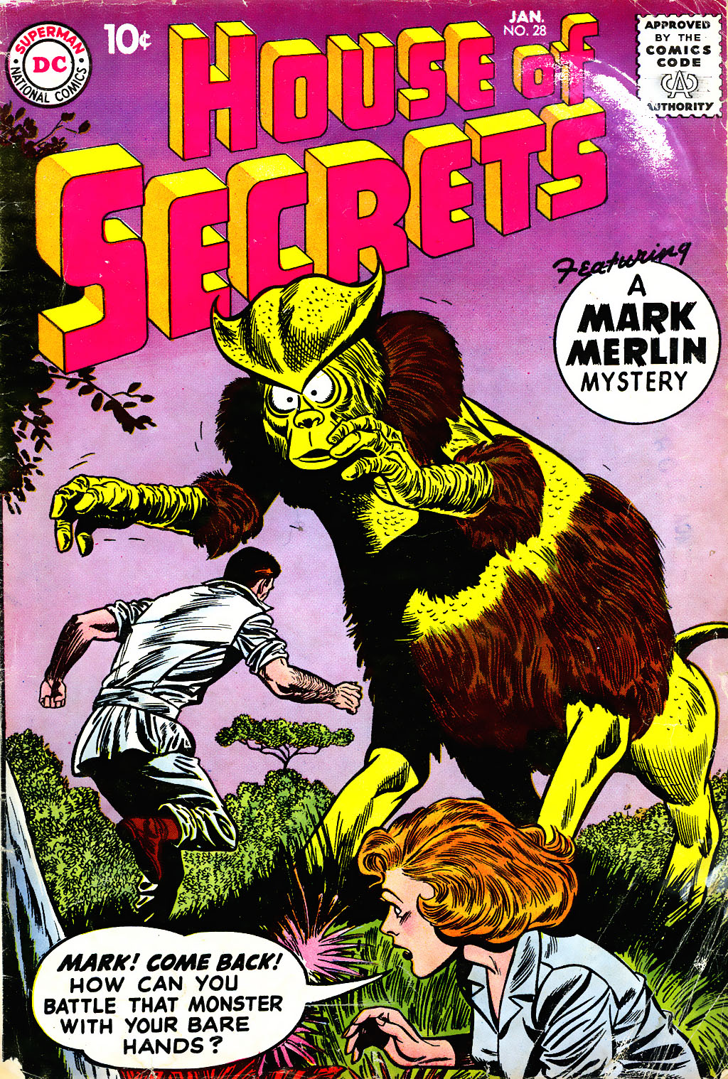 House of Secrets (1956) issue 28 - Page 1