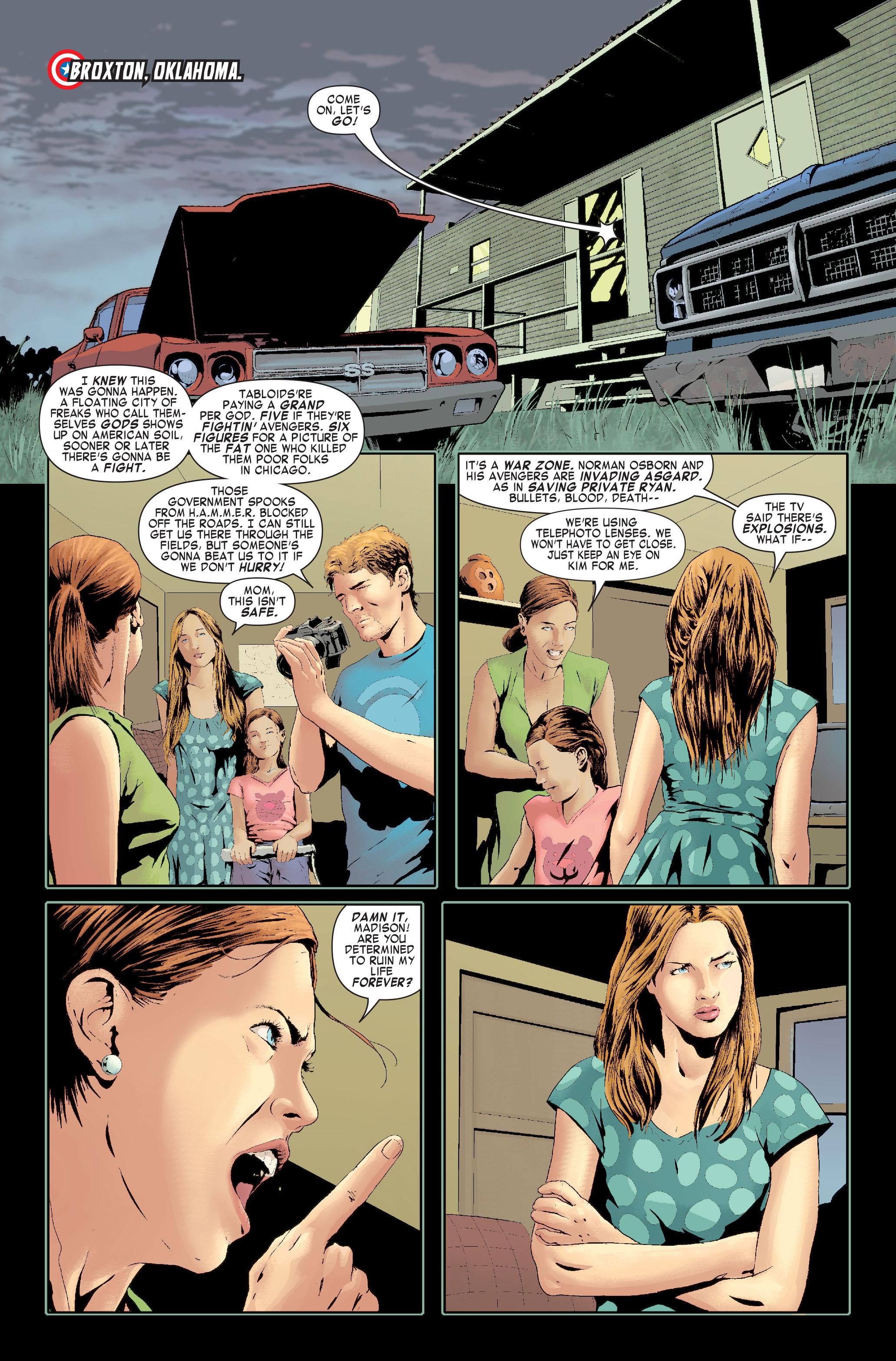 Read online Siege: Captain America comic -  Issue # Full - 3