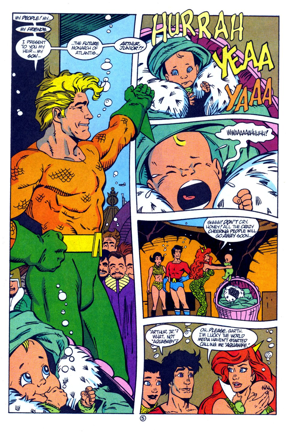 Read online Aquaman: Time and Tide comic -  Issue #4 - 6