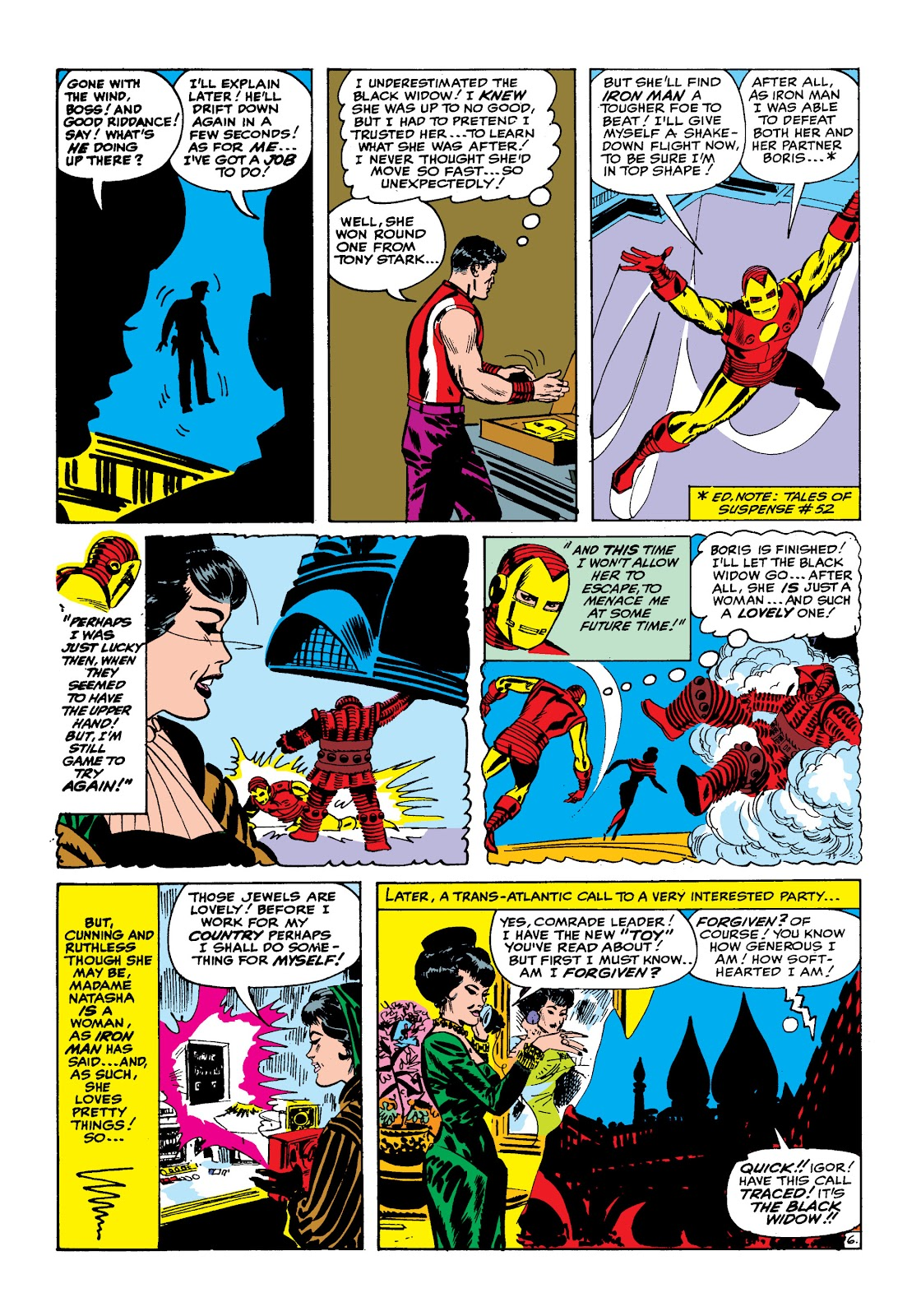 Read online Marvel Masterworks: The Invincible Iron Man comic -  Issue # TPB 2 (Part 1) - 37