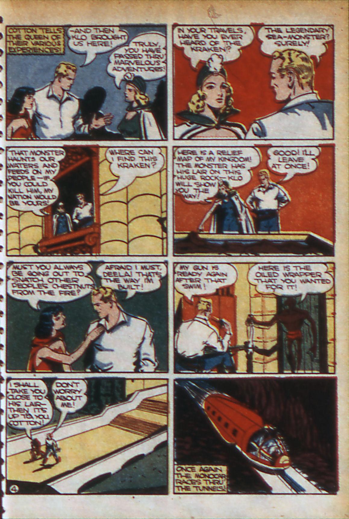 Read online Adventure Comics (1938) comic -  Issue #56 - 36