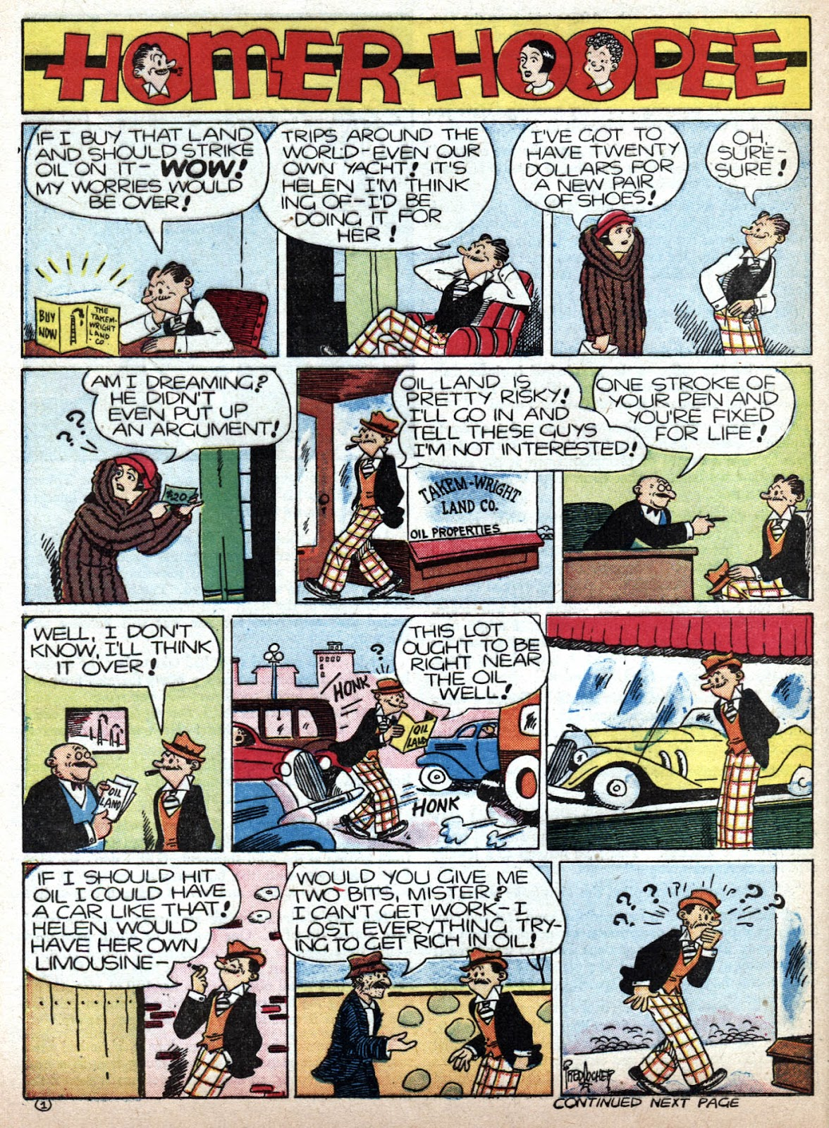 Read online Famous Funnies comic -  Issue #79 - 62