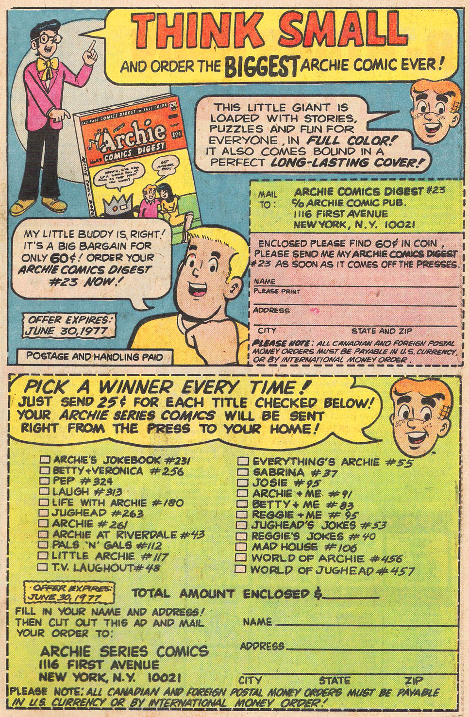 Read online Archie's Girls Betty and Veronica comic -  Issue #255 - 27