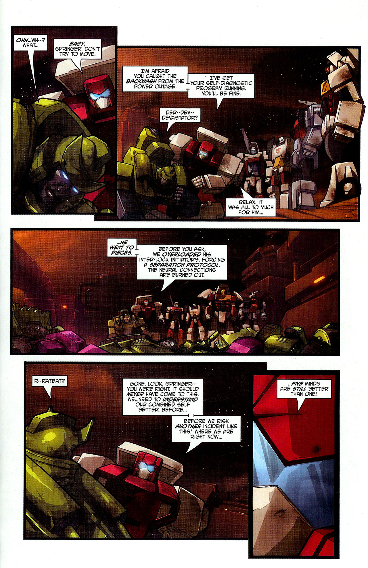"""Read online Transformers War Within: """"The Dark Ages"""" comic -  Issue #3 - 22"""