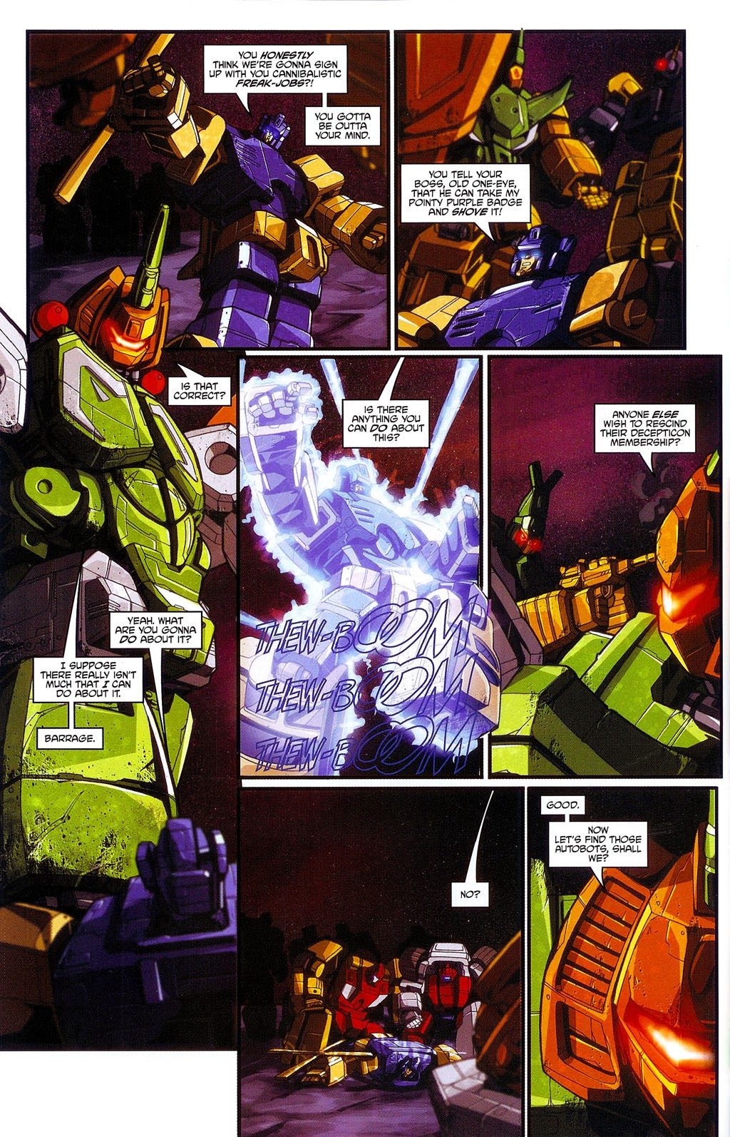 Read online Transformers: Micromasters comic -  Issue #3 - 12