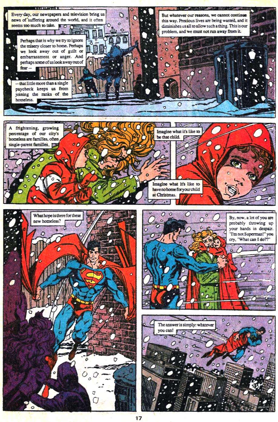 Read online Adventures of Superman (1987) comic -  Issue #462 - 18