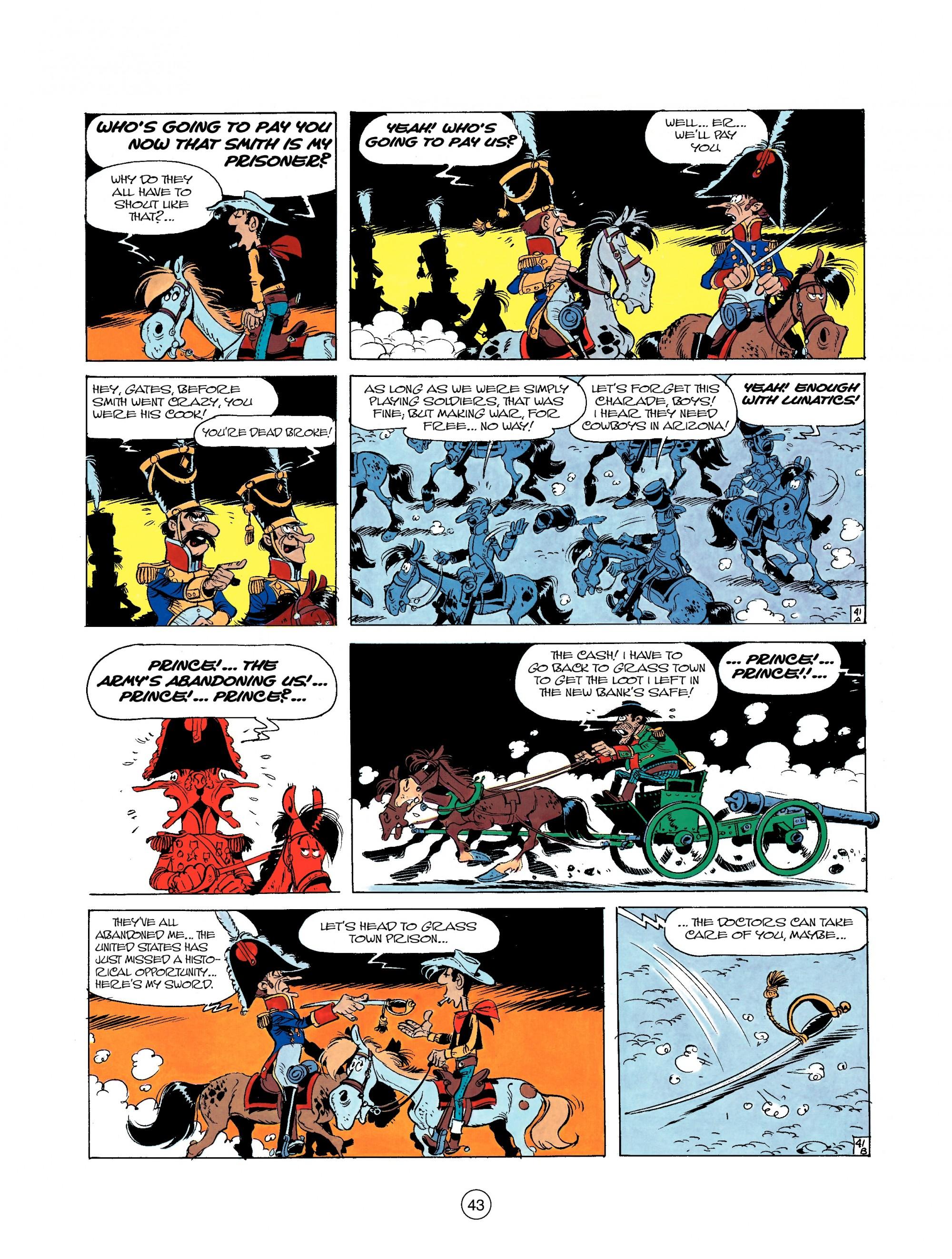 Read online A Lucky Luke Adventure comic -  Issue #22 - 43