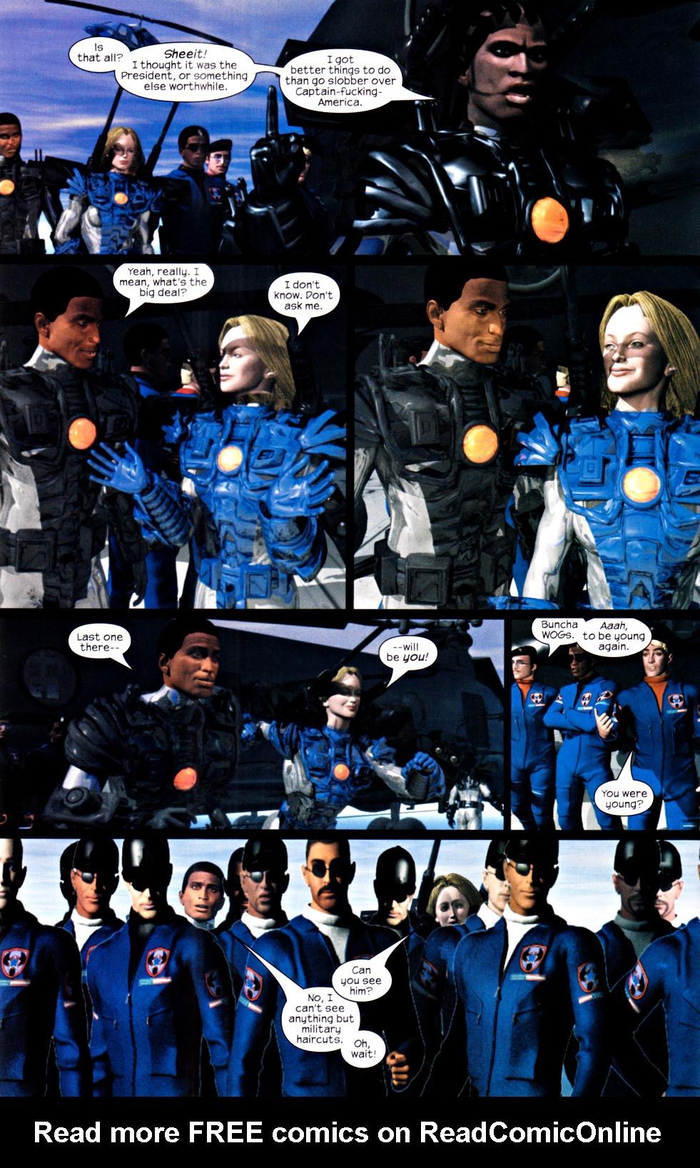 Read online U.S. War Machine 2.0 comic -  Issue #2 - 6