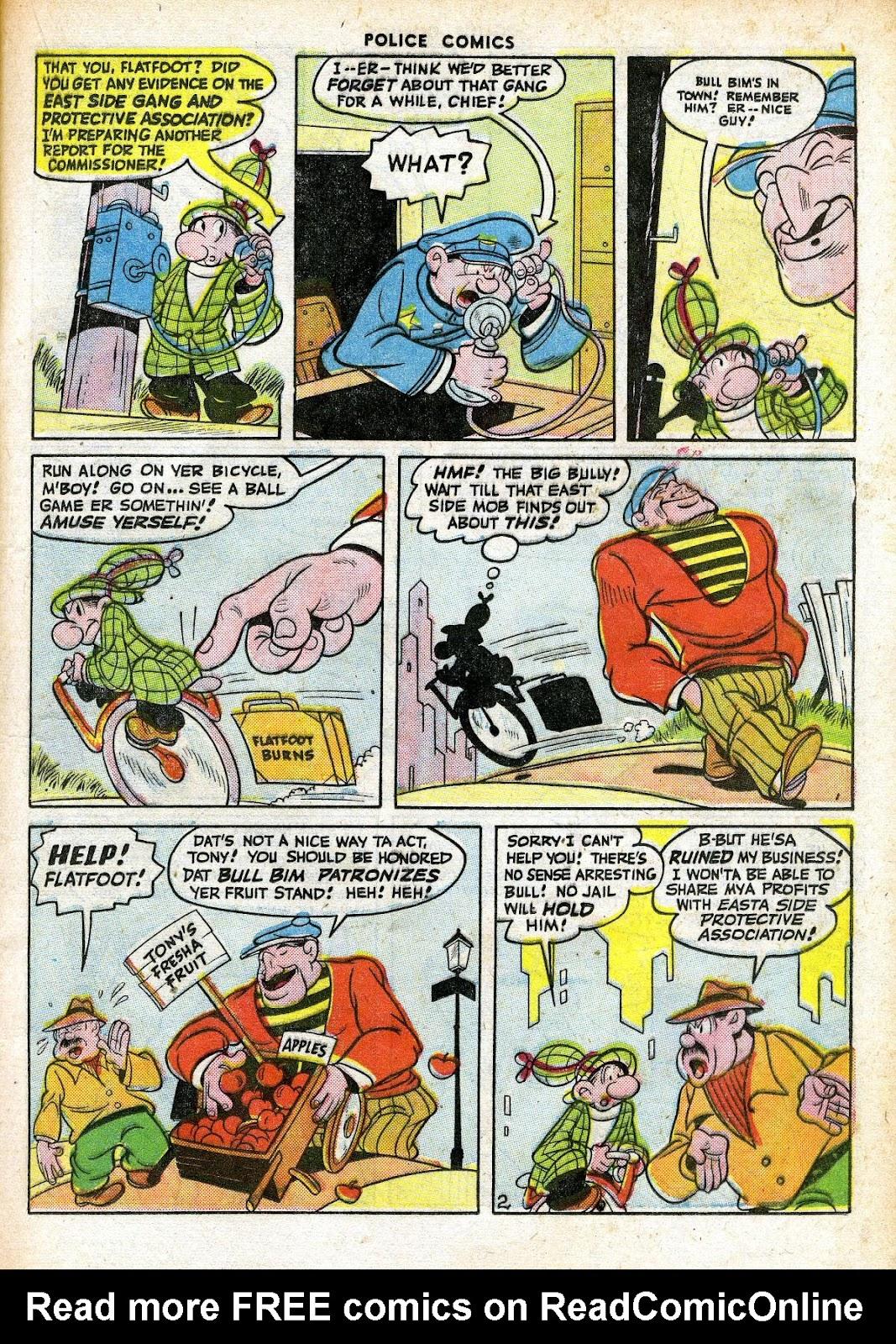 Comic Police Comics issue 63