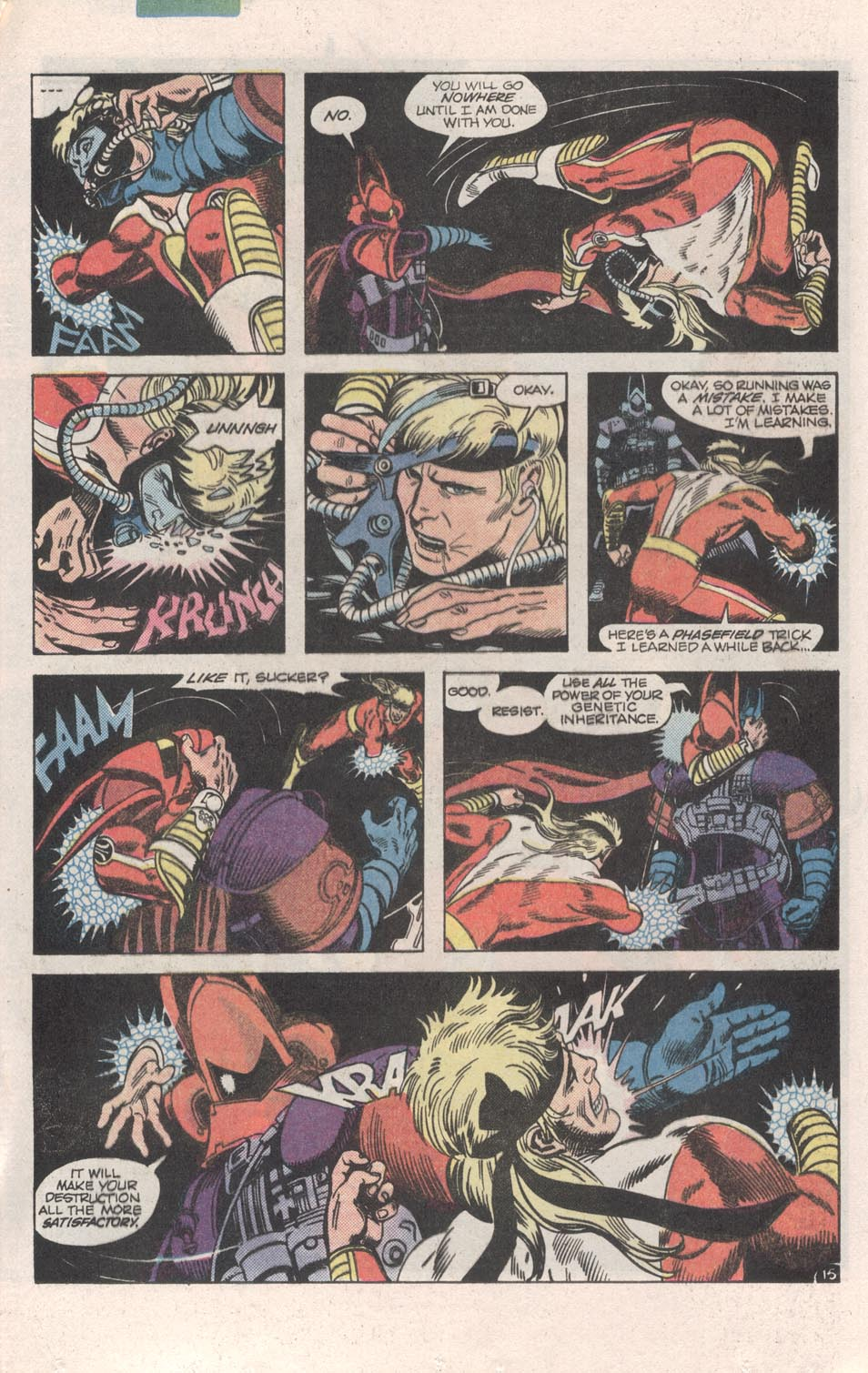 Read online Atari Force (1984) comic -  Issue #6 - 17