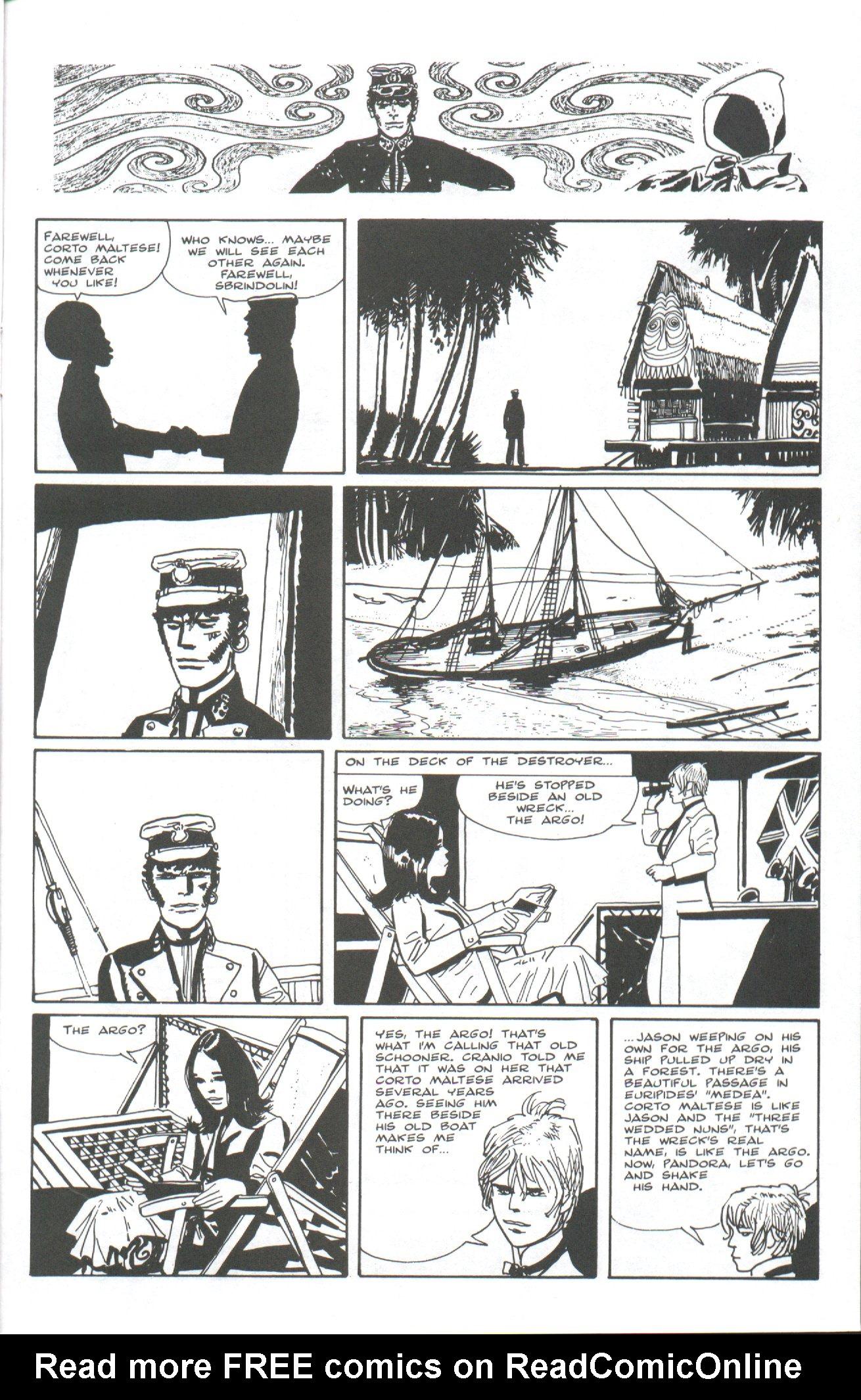 Read online Corto Maltese: Ballad of the Salt Sea comic -  Issue #7 - 19