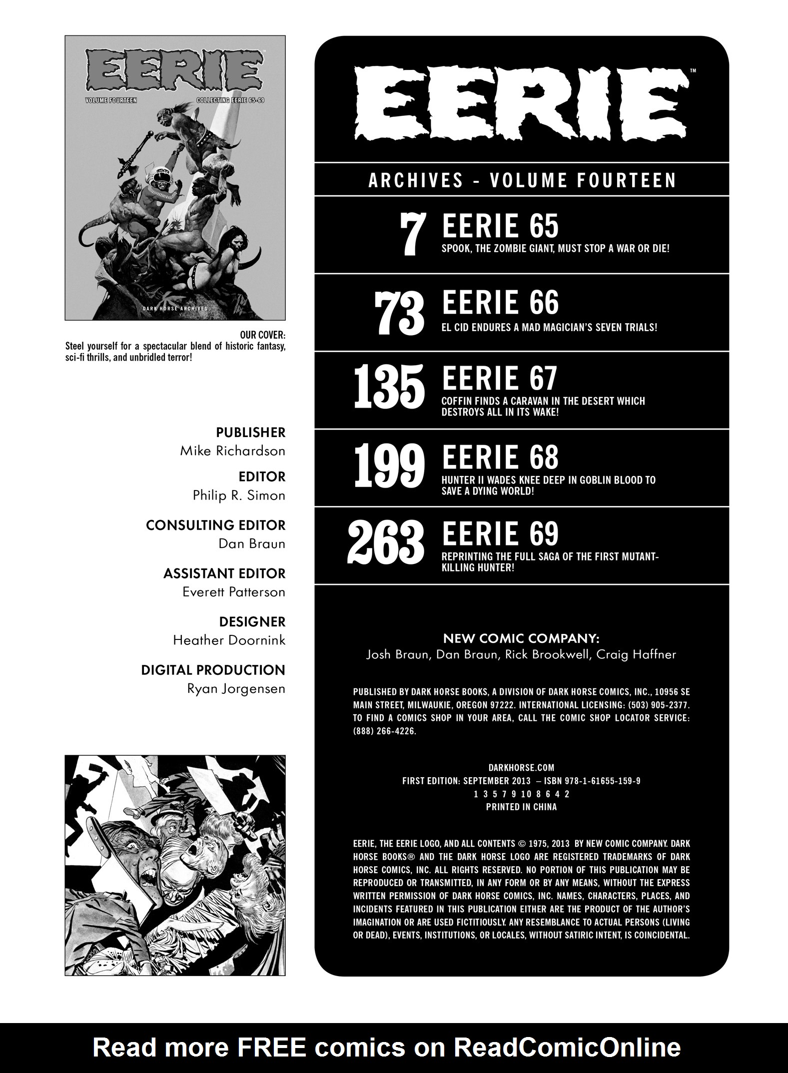Read online Eerie Archives comic -  Issue # TPB 14 - 4