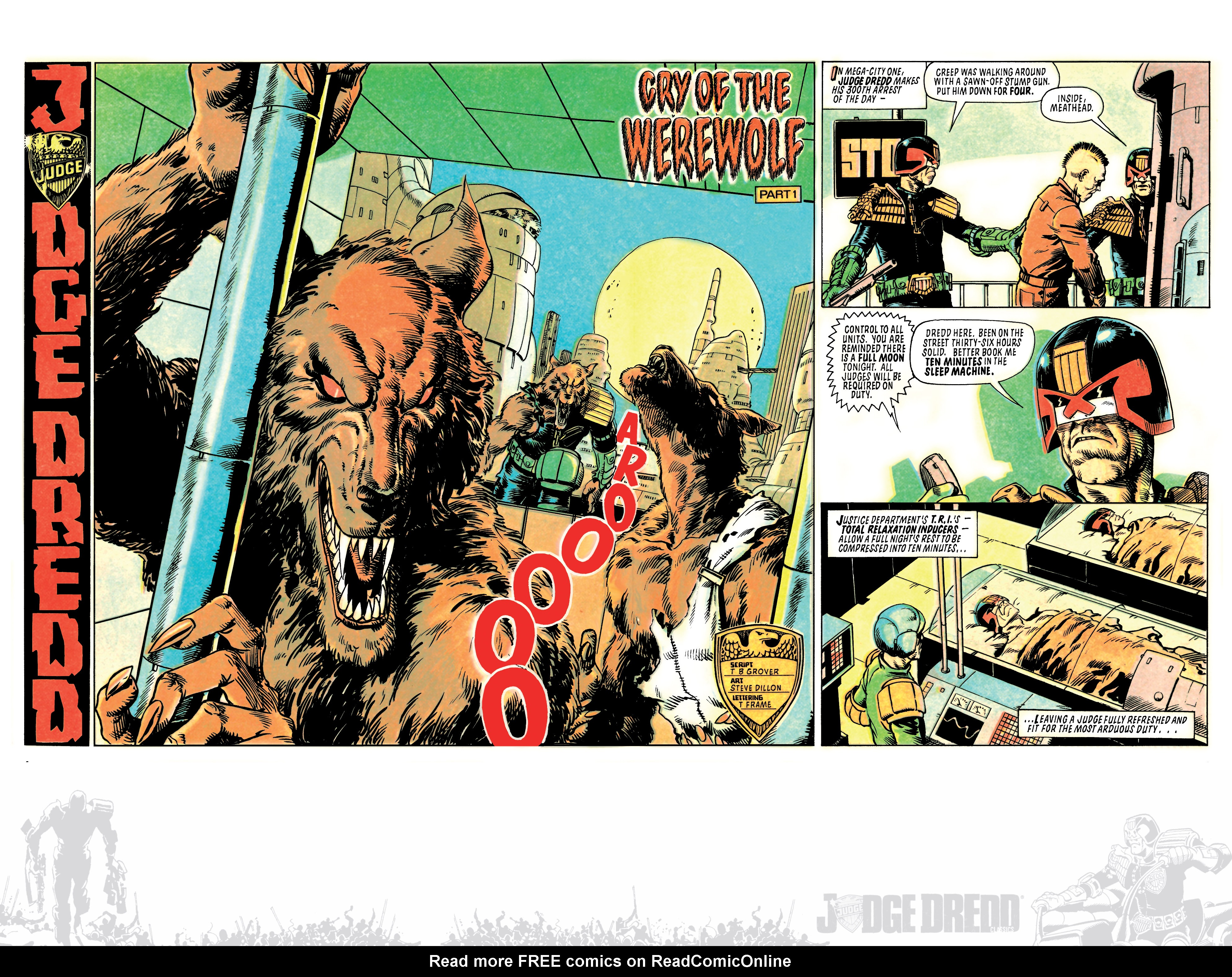 Read online Judge Dredd: The Blessed Earth comic -  Issue #2 - 28