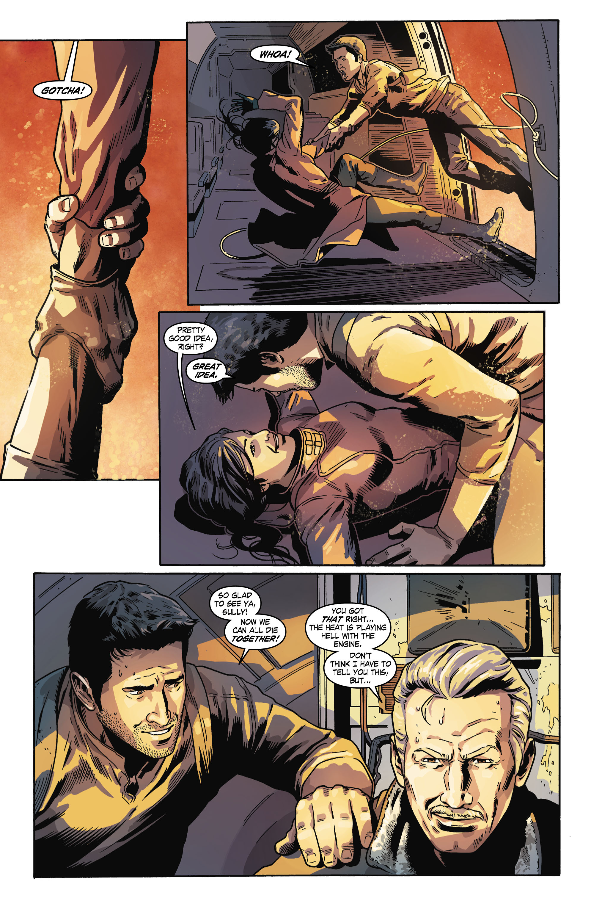Read online Uncharted comic -  Issue #6 - 14