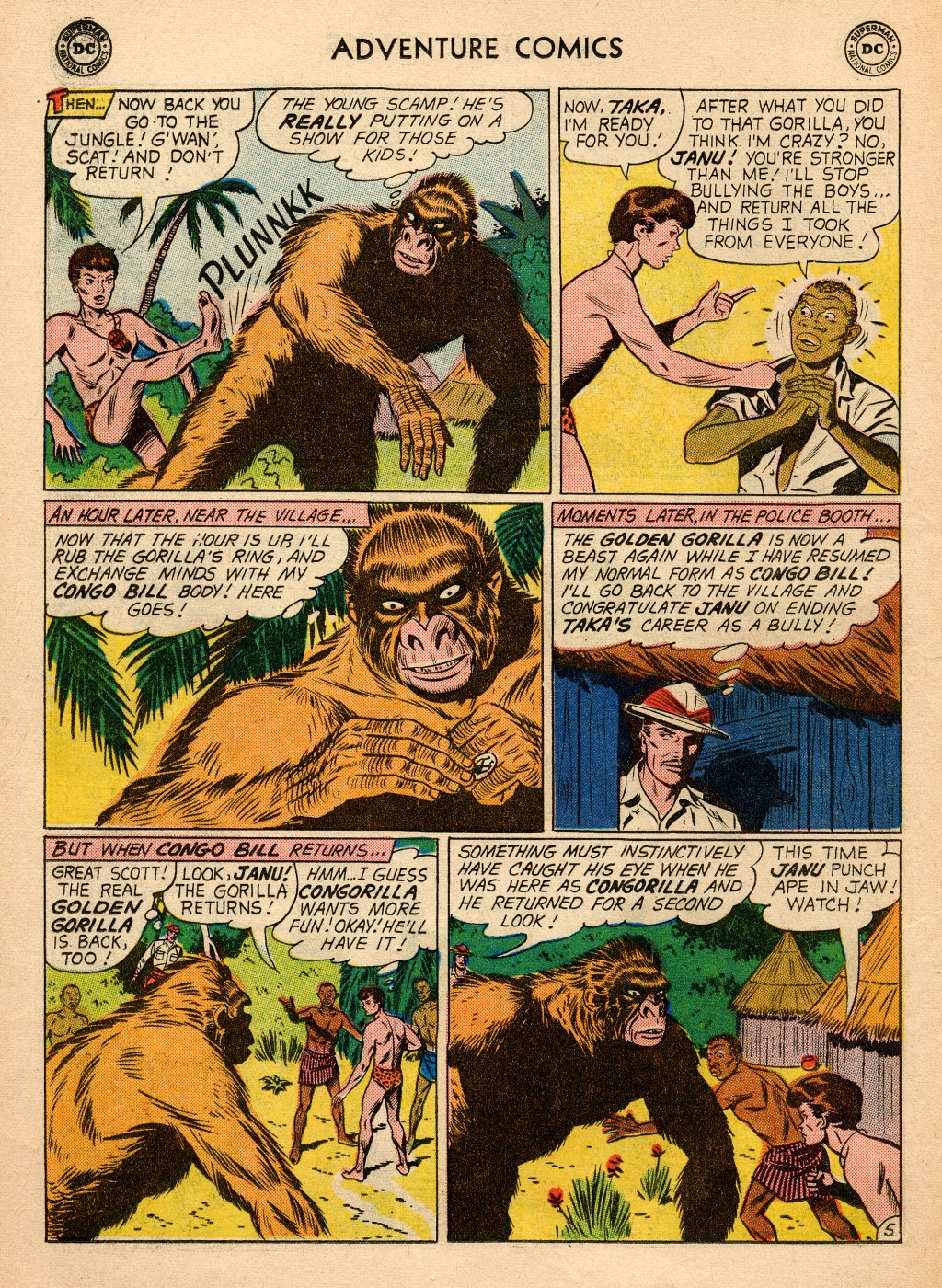 Read online Adventure Comics (1938) comic -  Issue #272 - 22