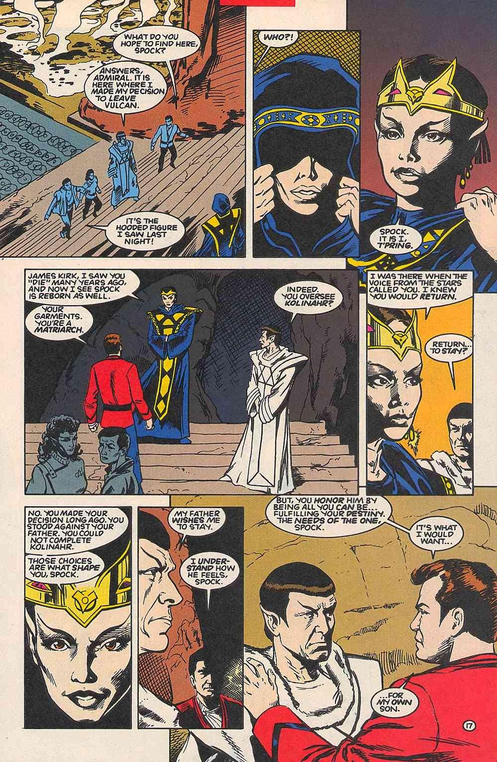 Read online Star Trek (1989) comic -  Issue # _Special 1 - 64