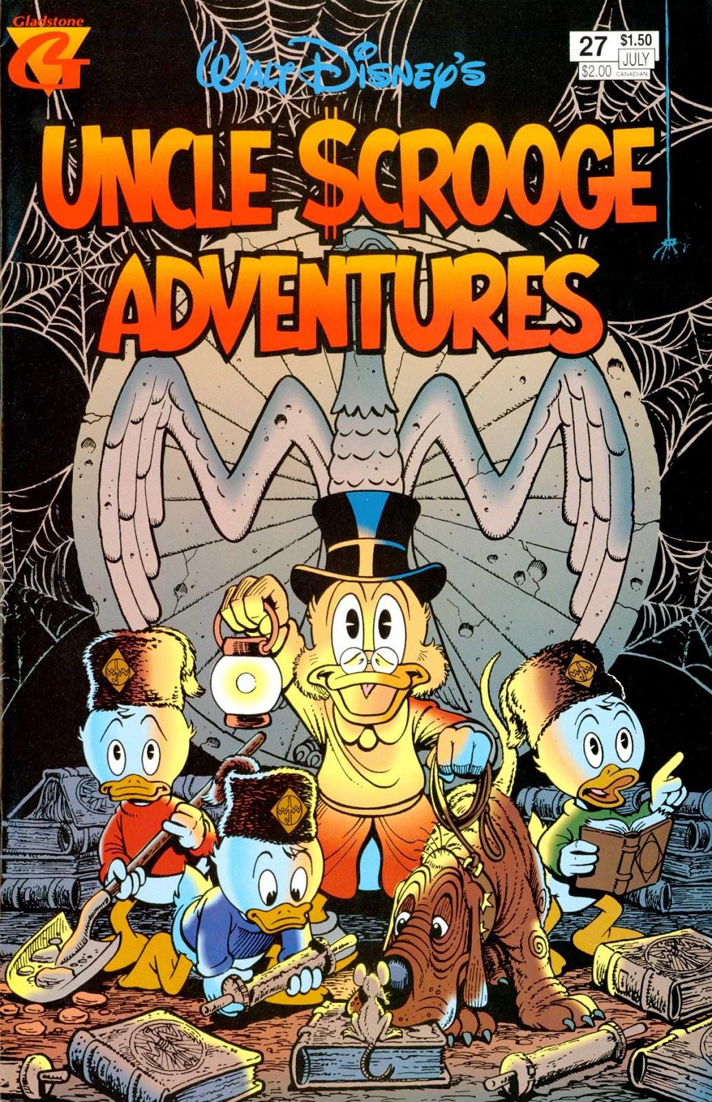 Walt Disney's Uncle Scrooge Adventures issue 27 - Page 1