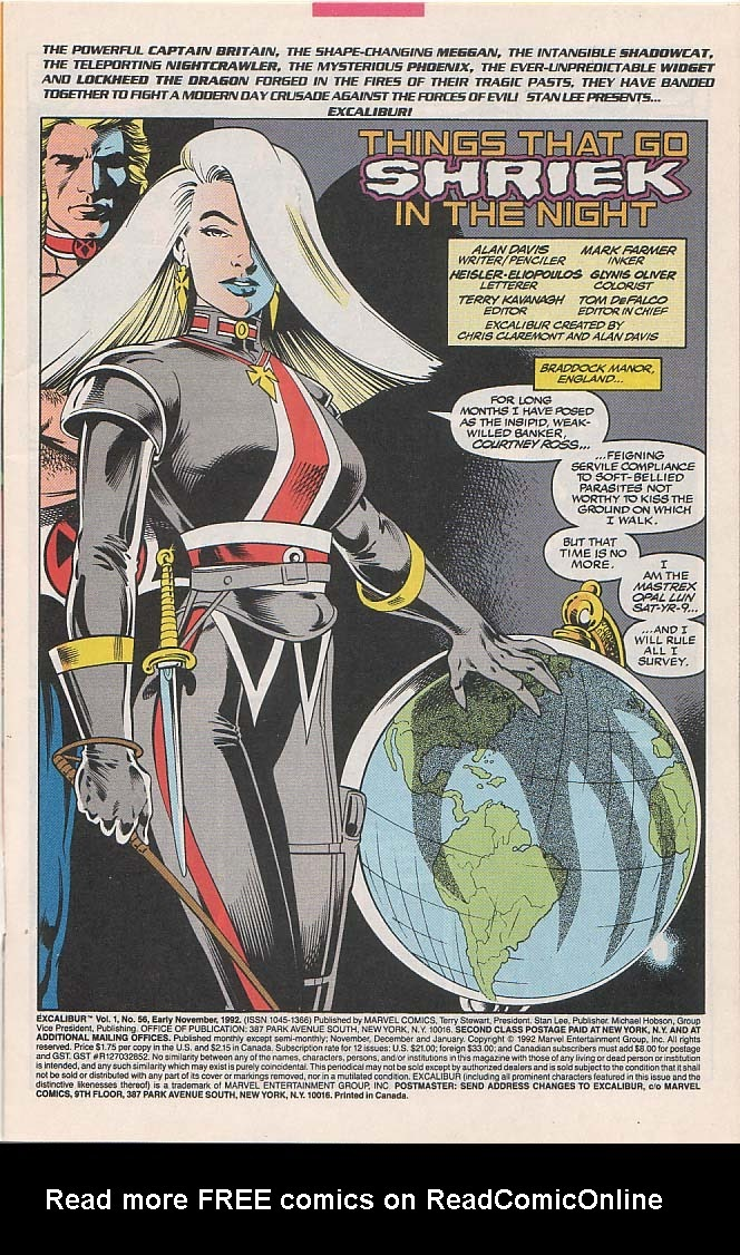 Excalibur (1988) issue 56 - Page 2
