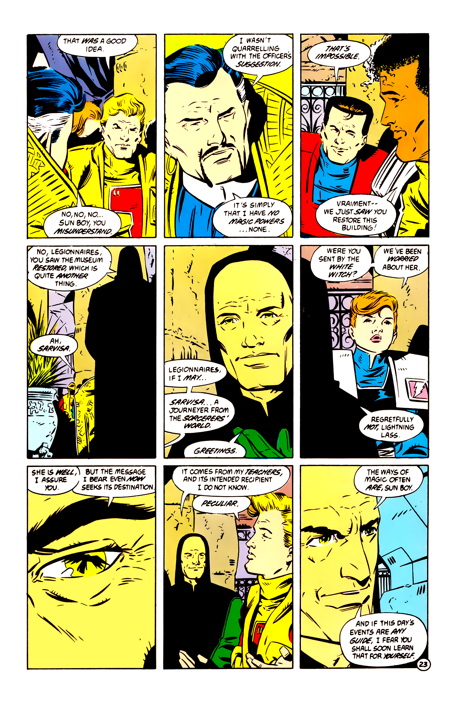 Legion of Super-Heroes (1984) 60 Page 23