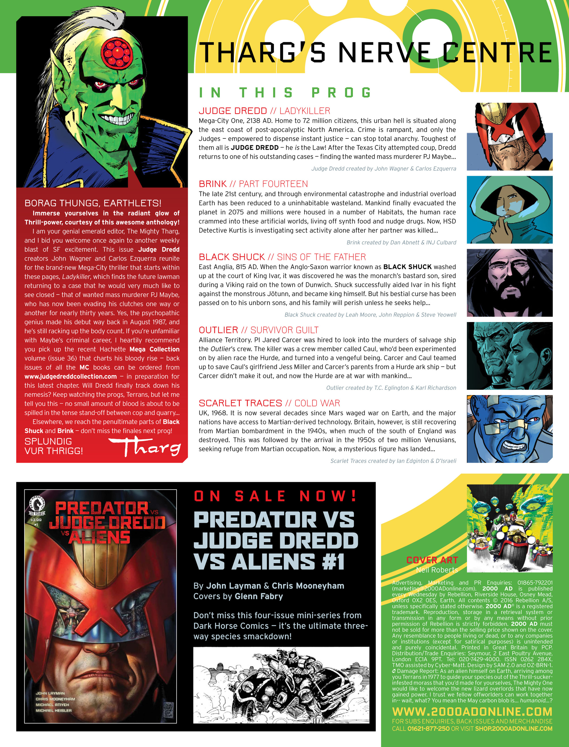 Read online 2000 AD comic -  Issue #1991 - 2