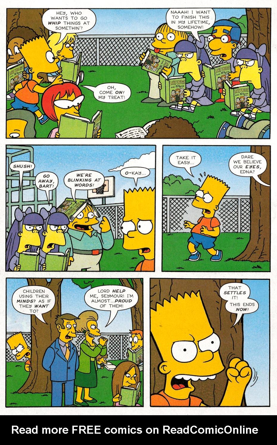 Read online Simpsons Comics Presents Bart Simpson comic -  Issue #30 - 7