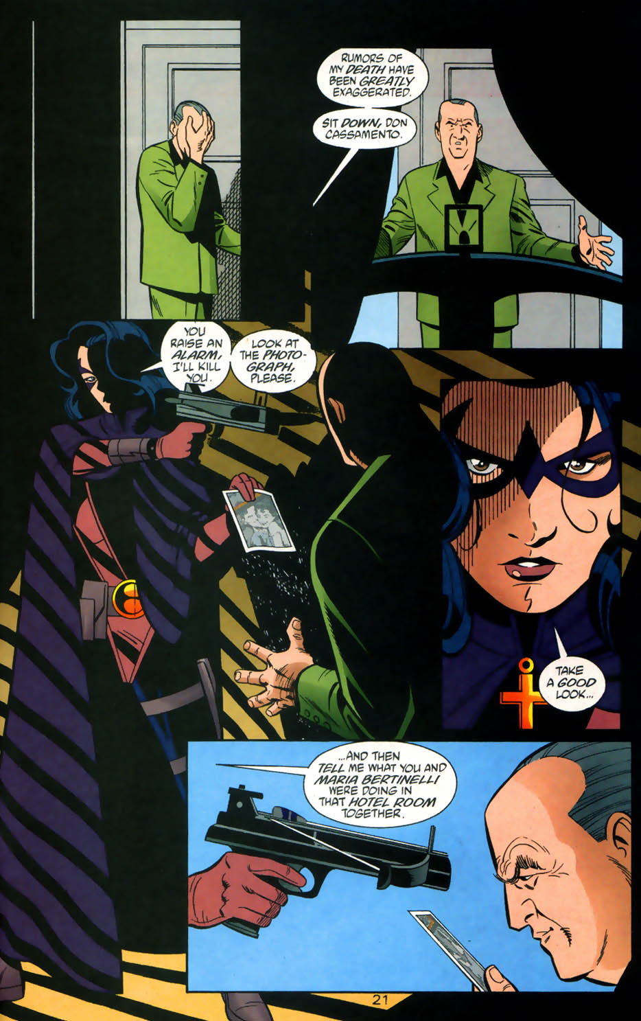 Read online Batman/Huntress: Cry for Blood comic -  Issue #5 - 21