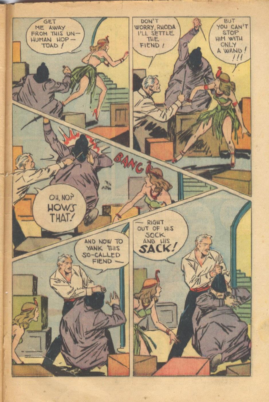 Read online Super-Magician Comics comic -  Issue #37 - 48
